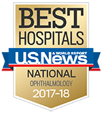 US New & World Report Ophthalmology Specialty badge