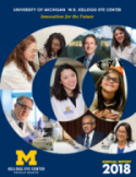 Cover of the 2018 U-M Kellogg Eye Center Annual Report