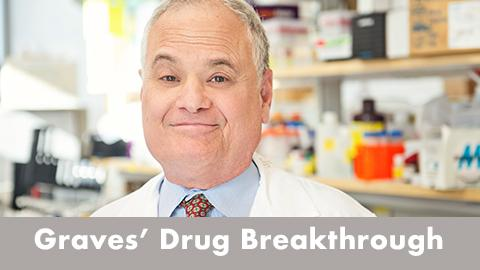 Dr. Terry Smith in his lab - Graves Drug Breakthrough